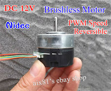 DC 12V Brushless Motor CW/CCW PWM Speed Control Urgent Stop with Drive Circuit