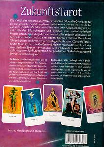 Zukunfts Tarot - Tarot der Zukunft Set Box Buch u. Karten Rarität eingeschweisst