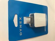Brand New GRAY Dynex USB Wall Charger AC Adapter 5W / 1amp Output Apple Android
