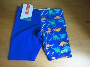 Boys Zoggs Swimming Jammers Trunks 2 3 4 5 6 years BNWT FREEPOST