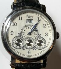 ASTBURY & Co KINETIC AUTOMATIC GENTS WRISTWATCH TOP QUALITY WATCH UNWORN - BLACK