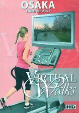 OSAKA CHERRY BLOSSOMS VIRTUAL WALK WALKING TREADMILL WORKOUT DVD AMBIENT COLL.