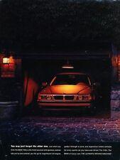 1995 BMW 740iL and Ferrari 2-page Original Advertisement Print Art Car Ad J590