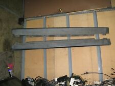 90-93 Honda Accord OEM both side bottom skirts STOCK factory flat black 4 door