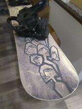 New listing RARE** Street Series GNU 157 Snowboard Hand Built in U.S.A. ROME SDS Bindings