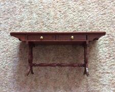 Regency Style Dolls House Wood Long Table