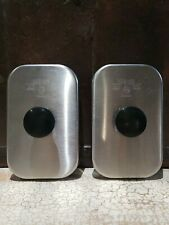 2 X Solid Stainless Steel Lift-Off Lid Server Model 82559 USA EUC Pair