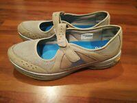 Vibram ABEO Aero Womens Mary Jane Flats Athletic Shoes Sandals Gray Blue Size 11