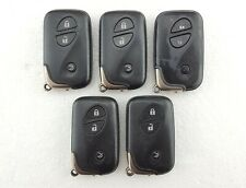 5 x Lexus IS250, IS220d, Etc. 3 Button Smart Key Fobs Job Lot - Tested