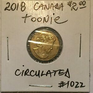 2018 Canada Two ($2) Dollar Toonie Circulated Nice Coin
