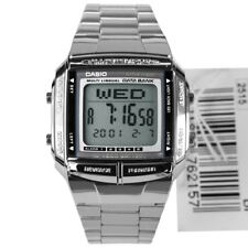 Casio DB-360-1A DB360 DB-360-1 TELEMEMO Data Bank Dual Time Retro Digital Watch