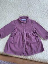 Zara Girls Cord Corduroy Shirt Dress 18 24 Months