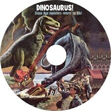 Dinosaurus! (1960 Cult Sci-Fi film) Mod Dvd disc only