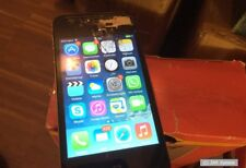 Apple iPhone 4s 16gb, black, no contract, no lock, damaged to hobbyists