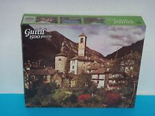 Sealed Vintage Whitman Guild 1500 pc. Piece Jigsaw Puzzle * Swiss Courtyard *