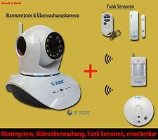 Z-Ben IP Kamera und Alarmsystem Alarm & Videoüberwachung 2in1 Funk Alarmanlage