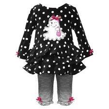 Rare Editions Girls Size 2T Halloween Ghost Legging Set NEW Cute!!