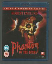 PHANTOM OF THE OPERA - Robert Englund - (1989) - Cult Horror - UK BLU-RAY - vgc