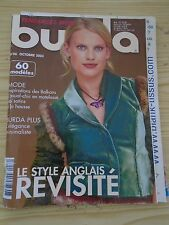 MAGAZINE BURDA LE  STYLE ANGLAIS REVISITE OCTOBRE   2003  N°46