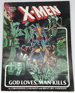 X-MEN Marvel Graphic Novel No 5 1982 2nd Edition Super Hero's Comic Book