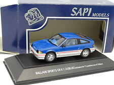 Sapi Japan 1/43 - Honda Ballad Sports CRX 1.5i Blue