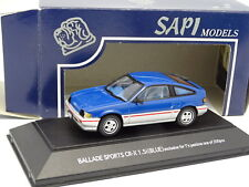 Sapi Japon 1/43 - Honda Ballade Sports CRX 1.5i Bleue