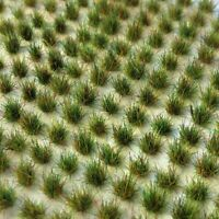 312 x Mini Static Grass Tufts (2mm, 4mm, 6mm - Various Colours)