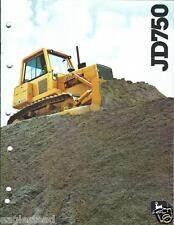 Equipment Brochure - John Deere - 750 - Crawler Dozer - c1980 (E2521)
