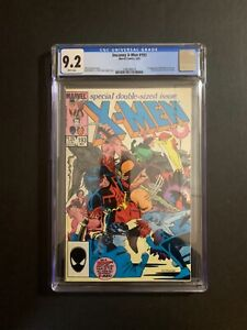 X-MEN #193 DOUBLE SIZED ISSUE.(W/P) (5/85) CGC 9.2 1ST APP. WAR PATH  NEW CASE!