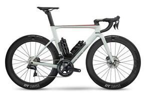 BMC TIMEMACHINE 01 ROAD THREE 51 WHT/BLK/RE TRI IRONMAN RACE CARBON BIKE BICYCLE