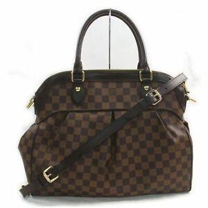 Louis Vuitton Hand Bag Trevi GM N51998 Browns Damier 1402024