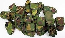 GENUINE DUTCH ARMY POCKET KNIFE BELT POUCH in WOODLAND CAMO TYPE 2
