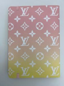 LOUIS VUITTON LIMITED BY THE POOL PINK CLEMENCE NOTEBOOK BAG PURSE escale case