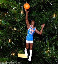 derrick COLEMAN new jersey NETS basketball NBA xmas TREE ornament HOLIDAY jersey