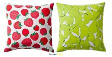 "NEW IKEA SOMMAR ZIPPERED CUSHION COVER 20"" X 20"""