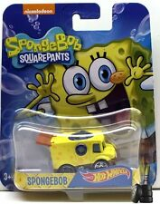 HOT WHEELS 1:64 CHARACTER CARS SPONGEBOB - SPONGEBOB Diecast Car DMH73-999A