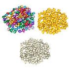 Popular 100Pcs Loose Beads Mini Jingle Bells Christmas Decoration DIY Crafts CN