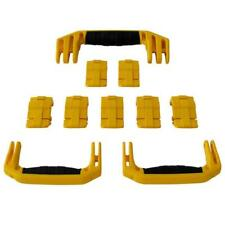 New Pelican Yellow 1650 replacement latches (7) & handles (3) - kits.