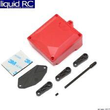 Vaterra 231039 Fuel Cell/Receiver Box Red & Servo Arms: ASN