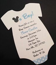 Baby Shower Mickey Mouse Greeting Cards & Invitations