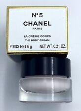 Chanel NO 5 BODY CREAM miniature 6 G 0.21 OZ VIP GIFT