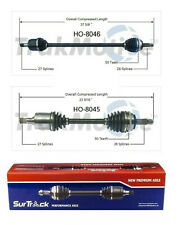 For Honda Accord FWD Pair Front CV Axle Shafts SurTrack Set Automatic Transm.