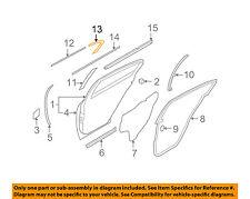 Infiniti NISSAN OEM 09-13 G37 Exterior-Rear-Rear Molding Right 82284JK000
