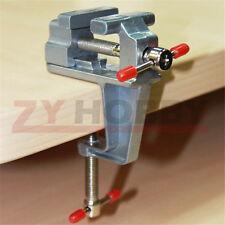 Mini Hand Tools Aluminium Table Vise W/Clamp for Crafts Model Building soldering