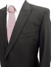 VERSACE COLLECTION Black Tuxedo Wool Slim Fit Suit IT50 UK/US40 New