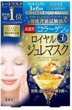 Kose Clear Turn Premium Firming Royal Jelly Gel Mask(4pcsx30g) Japan Beauty
