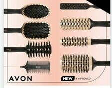 AVON ADVANCE TECHNIQUES HAIR BRUSHING styling cushion paddle round comb backcomb