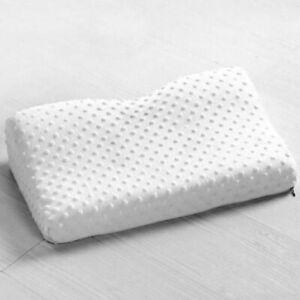 Soft Pillow Case 50 X 30 X 9cm Slowly Rebound Memory Foam Space Neck Cervical