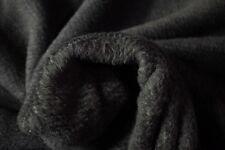 "Charcoal Double Sided Polartec Polar Fleece Fabric 64"" Wide Jacket Hunting Soft"