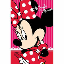 DISNEY serviette de toilette MINNIE 40 x 60 cm rose bain neuve